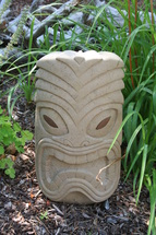 Stonecutters hand-carved garden whimsey